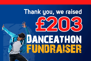 Thank you for supporting our Danceathon Fundraiser at Oasis Academy Hadley